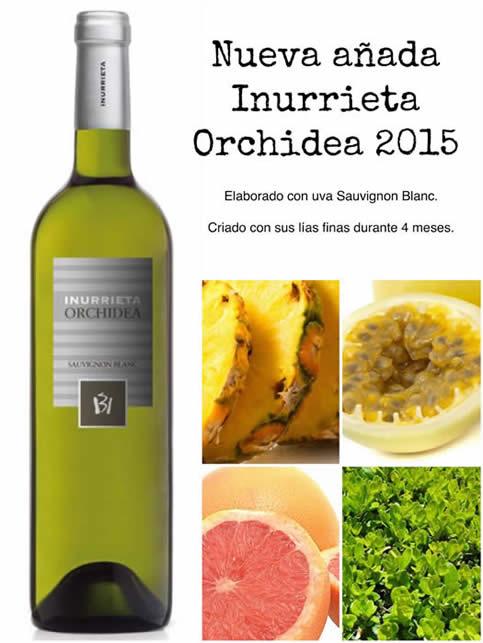 Nueva añada Inurrieta Orchídea 2015