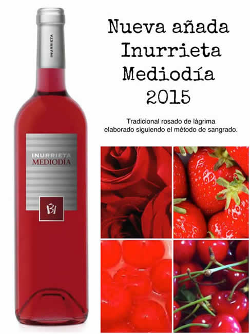 "New vintage ""Inurrieta Mediodia 2015"""