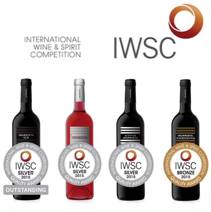 Cuatro medallas para Bodega Inurrieta en «International Wine & Spirit Competition»
