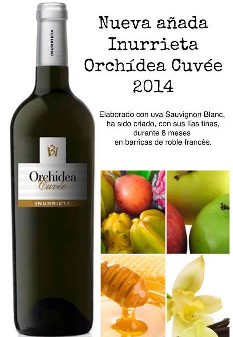 """New vintage """"Inurrieta Orchidea Cuvée 2014"""""""