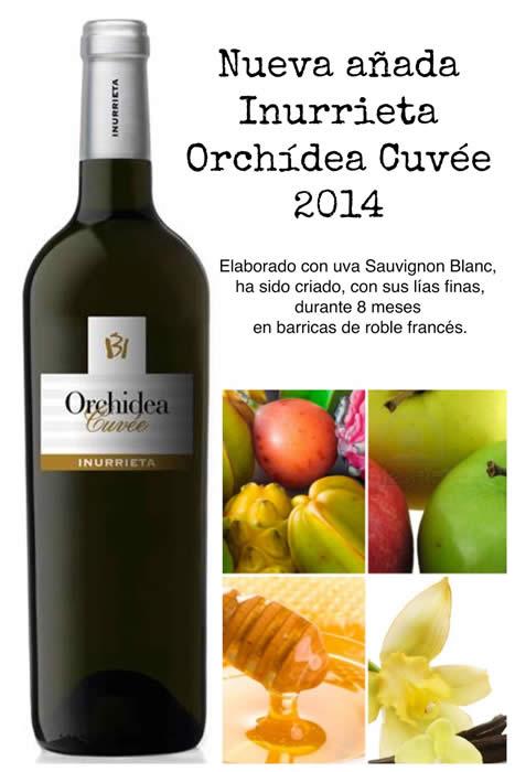 Nueva añada Inurrieta Orchídea Cuvée 2014