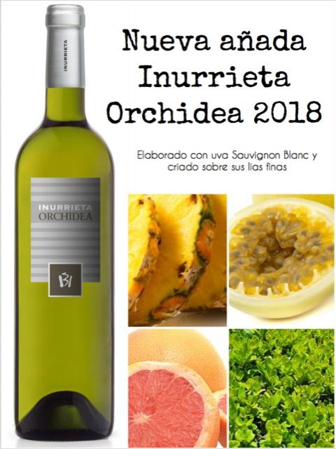 Nueva Añada Inurrrieta Orchidea 2018