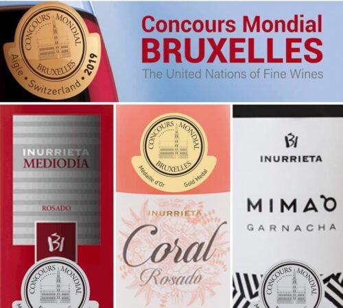 Three Medals for Bodega Inurrieta at the Concours Mondial de Bruxelles