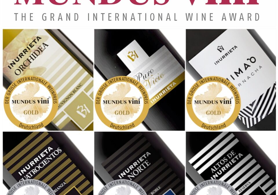 Six medals for Bodega Inurrieta at Mundus Vini 2019