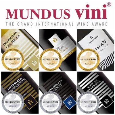MUNDUS VINI 2019 otorga seis medallas a Bodega Inurrieta