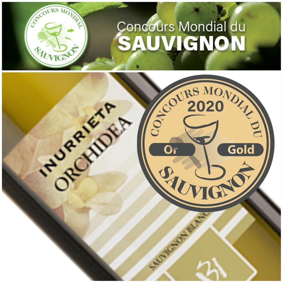 Medalla de Oro para Bodega Inurrieta en el Concours Mondial du Sauvignon