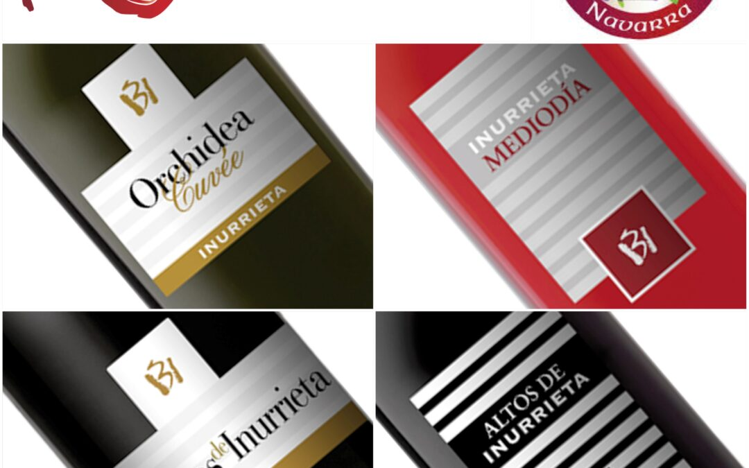 Bodega Inurrieta gewinnt vier der acht auszeichnungen für die besten weine der region Navarra, die von der Weinbruderschaft Vergeben Werden