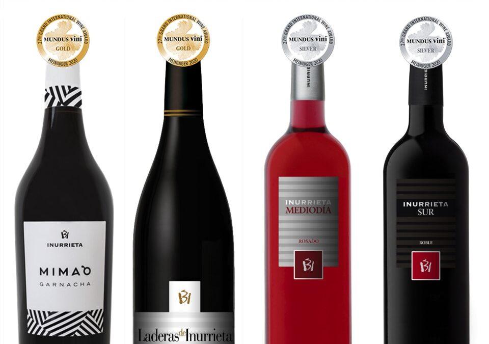 Vier Medaillen für Bodega Inurrieta bei der Sommerverkostung von Mundus Vini
